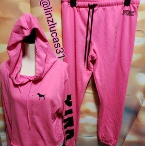 VSPINK szM classic pants &hoodie, NWT
